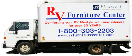 RV Furniture Center Truck